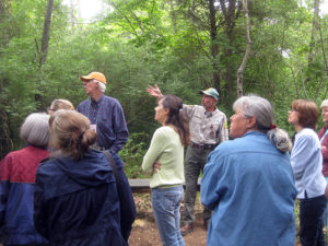 Herb Peddicord explains forest succession